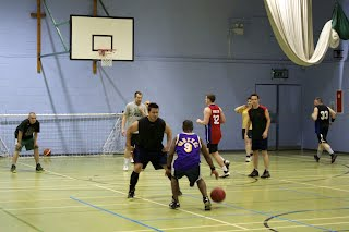 Putney Basketball training
